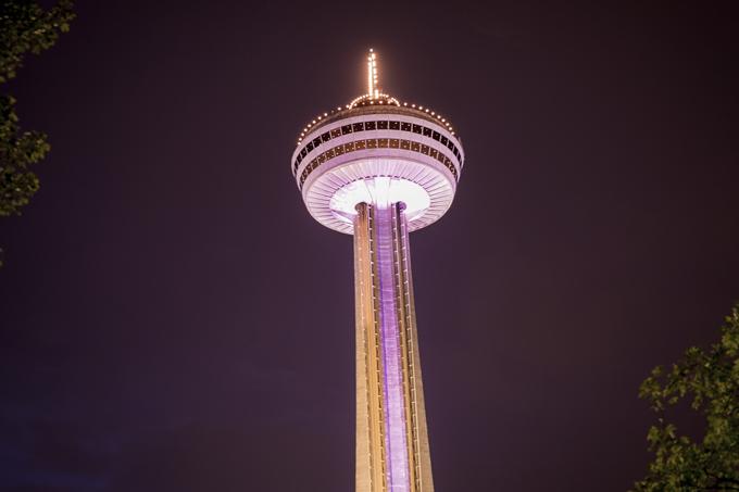 Skylon Tower at Niagara Falls, Ontario, Canada