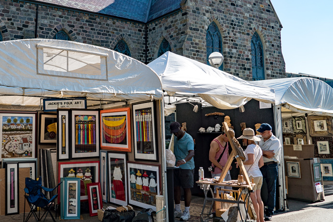 Ann Arbor Art Fair, Michigan