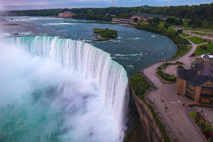 Niagara Falls aerial view, Ontario, Canada