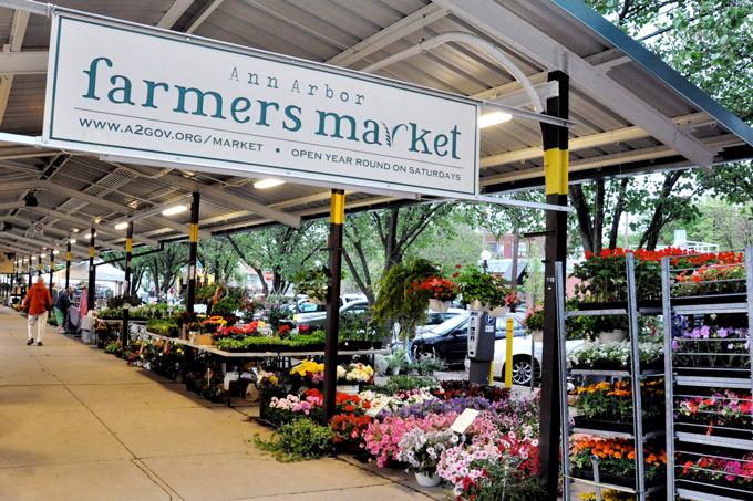 Ann Arbor Farmers Market, Michigan