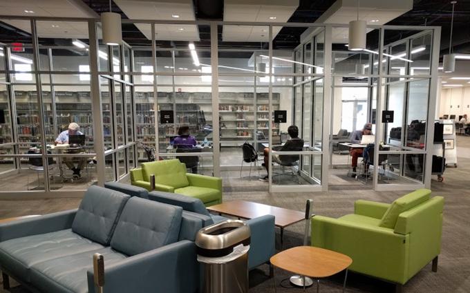 Ann Arbor Westgate Library, Michigan