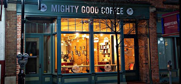 Might Good Coffee, Ann Arbor, Michigan
