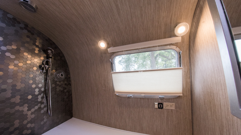Airstream trailer remodel 1985 Excella after pictures of Global Girl Travels Jessica Peterson