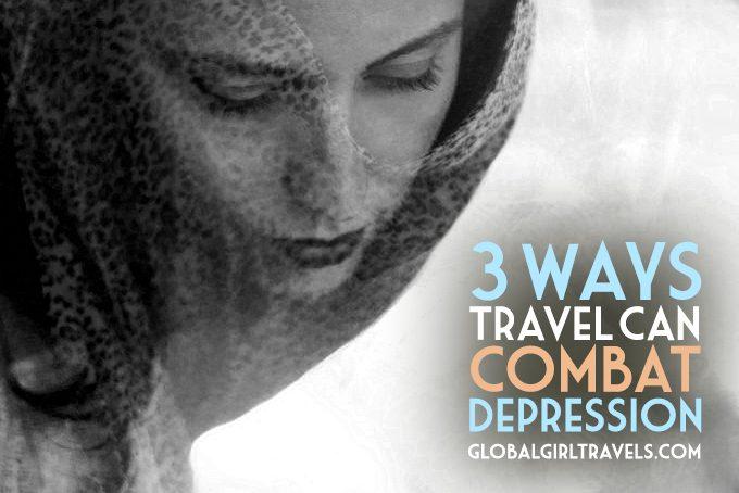 3 ways travel can combat depression