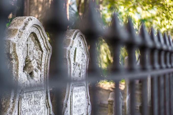 Savannah, Georgia graves