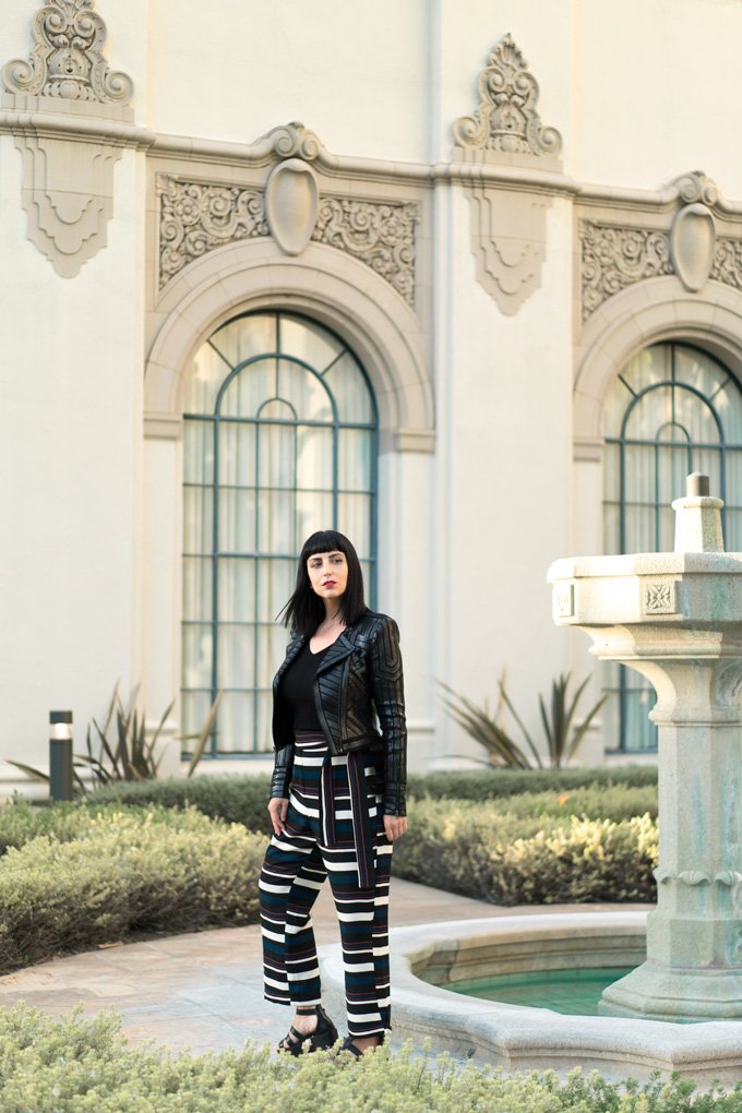 Jessica Peterson at Beverly Hills City Hall, California