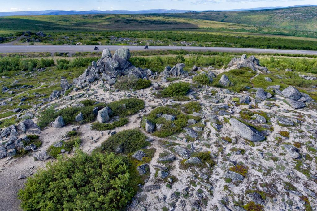 Finger Rocks, Alaska