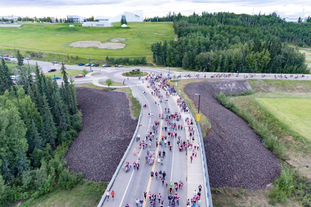 Midnight Sun Run, Fairbanks, Alaska