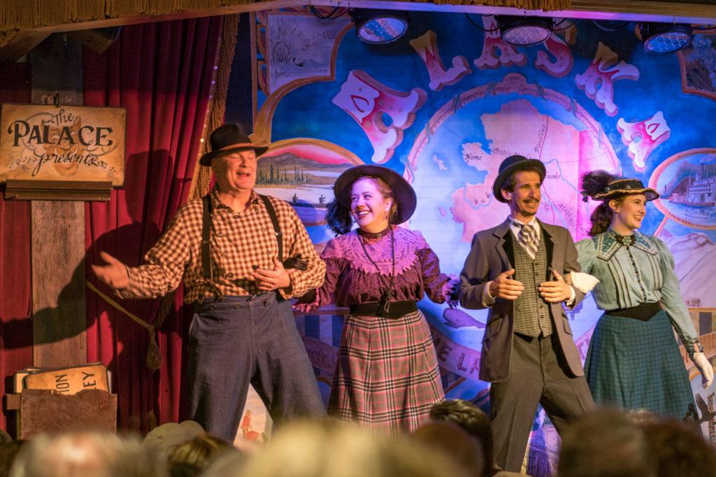 Fairbanks, Alaska theatre performance - Golden Heart Revue at the Palace Theatre