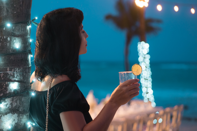 Jessica Peterson of Global Girl Travels at Barcelo Maya Grande Resort, Mexico