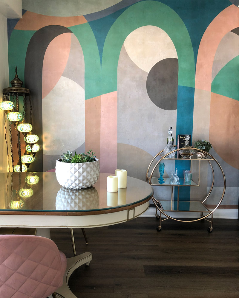 Photowall Art Deco Wallpaper Archform